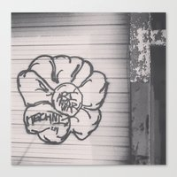 TECHNI BOMB Canvas Print