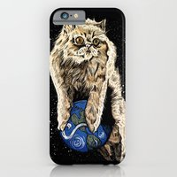 iPhone & iPod Case featuring Floyd the lion by mark kowalchuk
