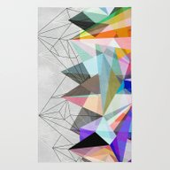 Rug featuring Colorflash 3 by Mareike Böhmer Grap…