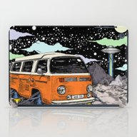 Moon Ride Color iPad Case