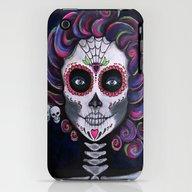 Sugar Skull Candy 2 iPhone (3g, 3gs) Slim Case