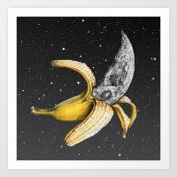 A Planetary Plantain Art Print