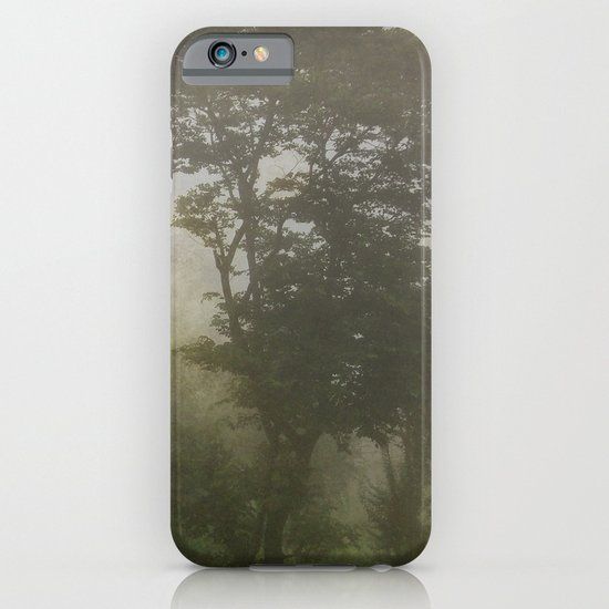 A foggy day in Dharamsala, India iPhone & iPod Case