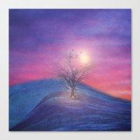 Lone Tree Love III Canvas Print