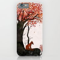 iPhone & iPod Case featuring Fantastic Mr. Fox Doesn't Feel So Fantastic Anymore by Gelrev Ongbico