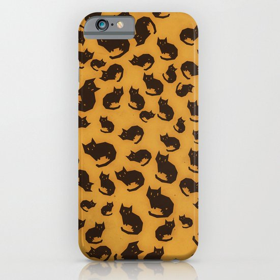 Too many kitties Leopard print iPhone & iPod Case