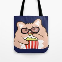 Cinema lovers Tote Bag