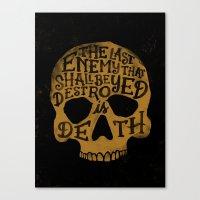 Last Enemy Canvas Print