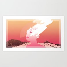 SUCK IT AND SEE Art Print