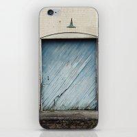 Big Blue Door iPhone & iPod Skin