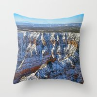 Morning Of Rediscovery Throw Pillow
