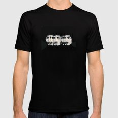 Angela Mens Fitted Tee Black SMALL