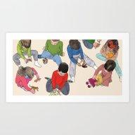 Play Time Art Print