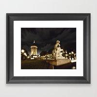 Mannheim Wasserturm Framed Art Print