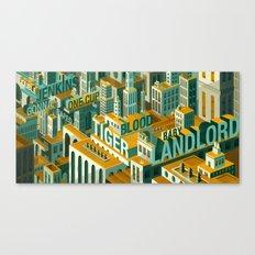 'Meme City' Canvas Print