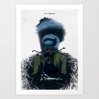 True Detective - Form An… Art Print