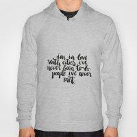 Inspiring quote // Brushlettering Hoody