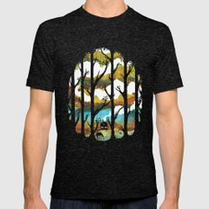 A Magical Place Mens Fitted Tee Tri-Black SMALL