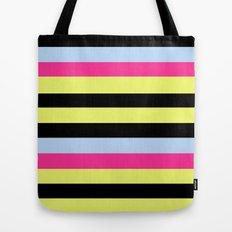 Bertie Bassett Stripes Pattern Tote Bag