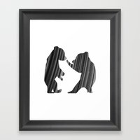 Cubs (The Living Things Series) Framed Art Print