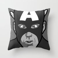 The secret life of heroes - Photobooth2-3 Throw Pillow