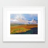 The Black Cuillin Framed Art Print