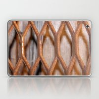 Rusted Steel Faded Wood Laptop & iPad Skin