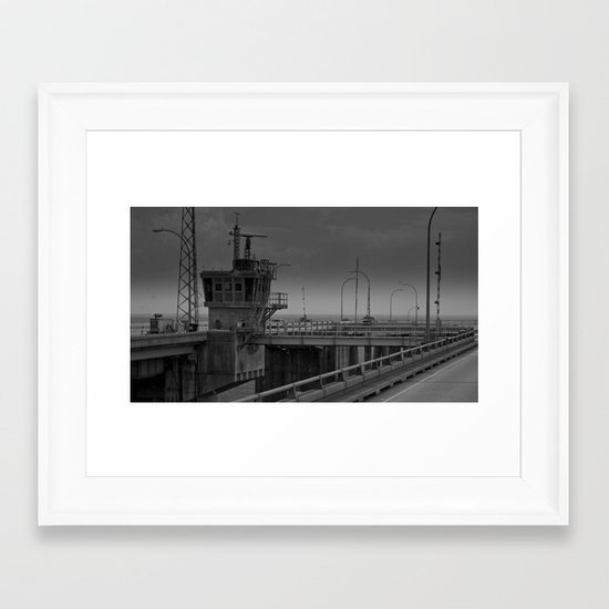 Midway Framed Art Print