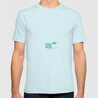 Hi Mens Fitted Tee Light Blue SMALL