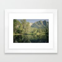 Merced River II Framed Art Print