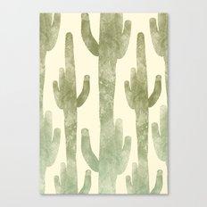 Giant Cactus Canvas Print
