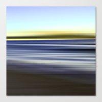 nuage vert - seascape no. 08 Canvas Print