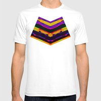 Simi 121 Mens Fitted Tee White SMALL