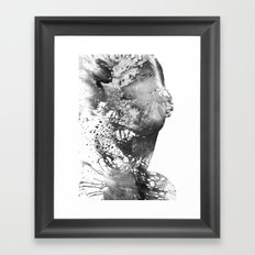 Feel Framed Art Print