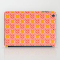 Retro Bloom Light 8 iPad Case