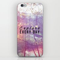 Explore Every Day iPhone & iPod Skin