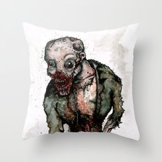 Keep Living Throw Pillow