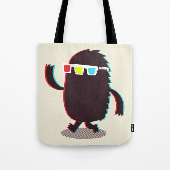 MONSTER 3d Tote Bag