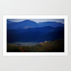 Berwartstein Castle Art Print