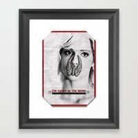 The Cylons Of The Lambs Framed Art Print