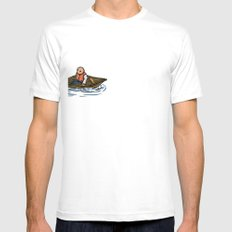Alternative Travel Mens Fitted Tee SMALL White