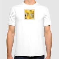 Old-School Orchard Mens Fitted Tee White SMALL