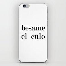 Besame iPhone & iPod Skin