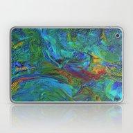 Abstract Acrylic AA2 Tex… Laptop & iPad Skin