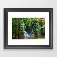 Waterfall Framed Art Print