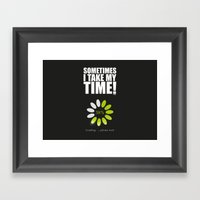 Loading Framed Art Print