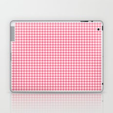 Picnic Pals gingham in strawberry Laptop & iPad Skin