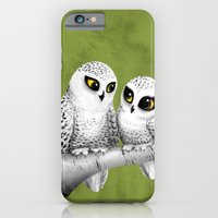 iPhone & iPod Case featuring Owl Love You by Sarah J