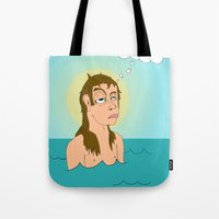St. Cleatus the Babtist (John's younger, lesser known, brother) Tote Bag