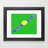 Watch_1 Framed Art Print